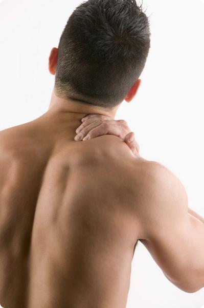 強いマッサージは、筋肉の炎症に!