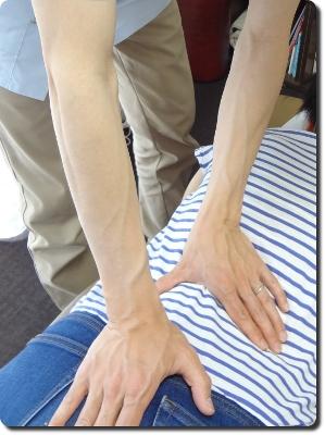手当てにこだわった手技療法